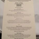 Grand Banquet menu