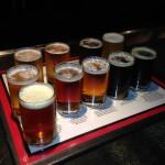 Denver Chophouse & Brewery sampler beers