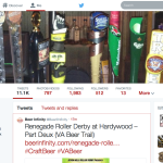 Beer Infinity twitter account