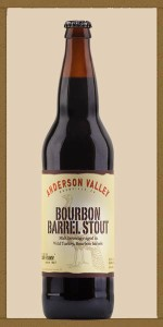 Anderson Valley Wild Turkey Bourbon Barrel Stout