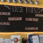 Beers on tap at Asheville Brewing