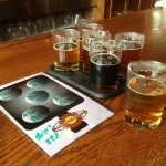 Asheville Brewing samplers