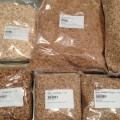 Assorted grains for making beer