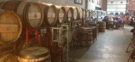 Avery Brewing barrel room