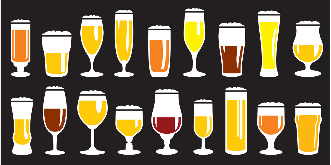 Beer Style glasses