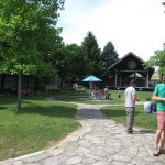 Bell's Brewery beer garden