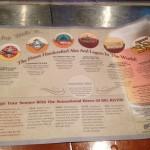 Big River Brewing menu