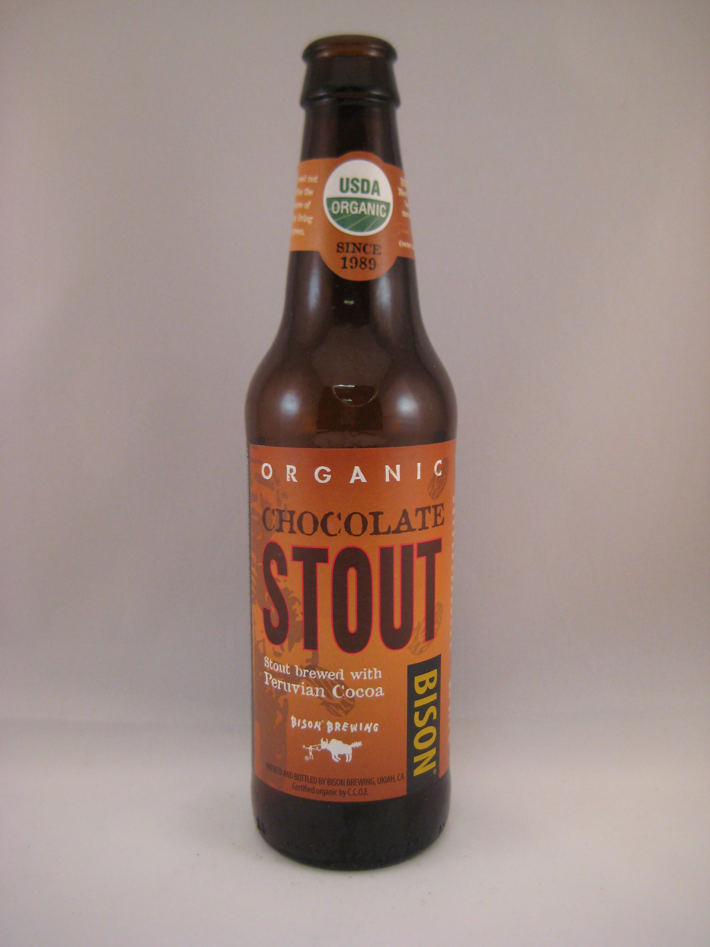 Bison Organic Chocolate Stout | Beer Infinity