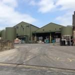 Black Sheep Brewery yard