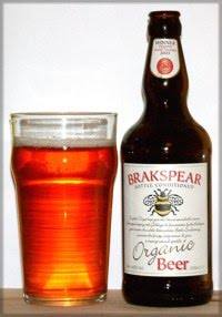 Brakspear Bottle Conditioned Organic Beer