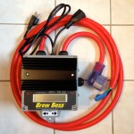 240V Brew-Boss controller with separate 120V pump power cords