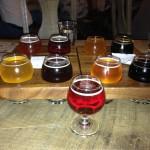 Brewery Vivant samplers 1 & 2