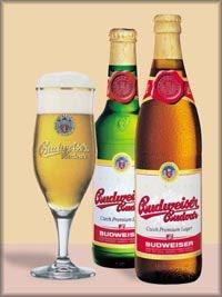 Budweiser Budvar Premium Czech Lager
