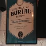 Burial Beer grand opening