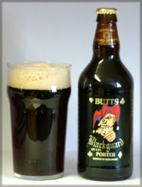 Butts Brewery Blackguard Porter