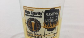 NHC 2014 commemorative glass