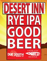 Due South Desert Inn Rye IPA