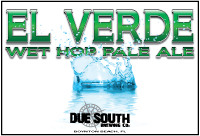 Due South El Verde – Wet Hop Pale Ale