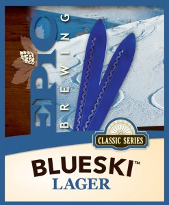 Epic Blue Ski Lager