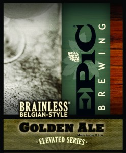 Epic Brainless Belgian-Style Golden Ale
