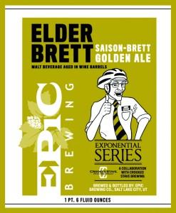 Epic Elder Brett: Saison-Brett Golden Ale