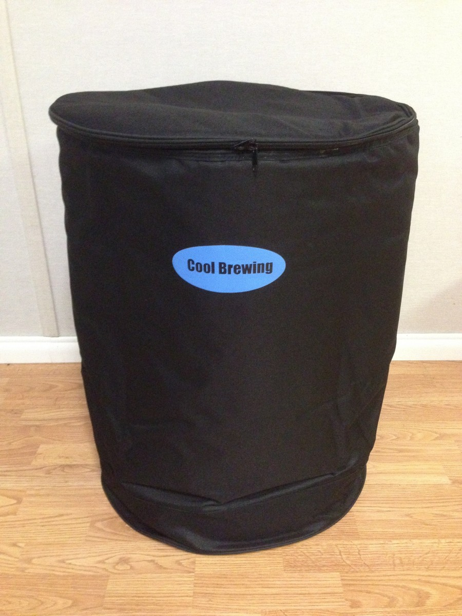 Kool A Brew Can Coolers ~ Cool brewing fermentation cooler product review beer