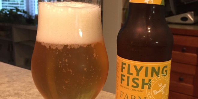 Flying Fish Farmhouse Summer Ale Beer The Day