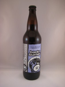 Southern Tier Back Burner Imperial Barley Wine Style Ale