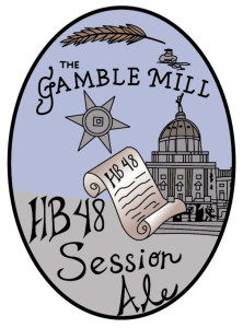 Gamble Mill HB 48 Session Ale