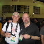Phil Gowling from Beer Infinity with 3 x Ninkasi winner Gordon Strong