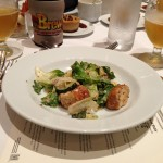 Beer paired food at the Grand Banquet