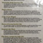 Great Dane beer list