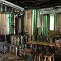 Green Man Brewery fermenters