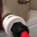 Heater element & temperature sensor fittings