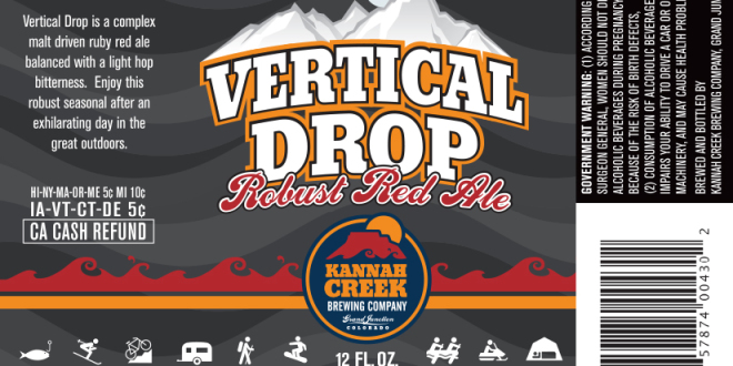 Kannah Creek Vertical Drop