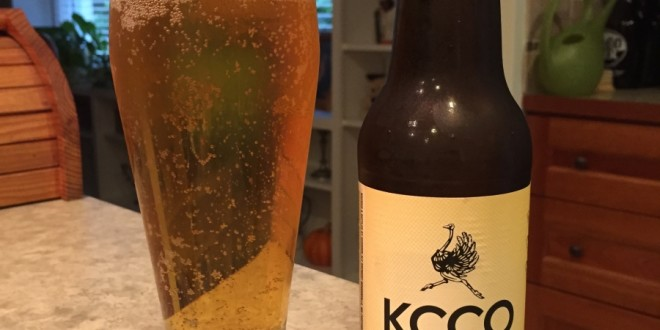 KCCO Gold Lager | Beer Of The Day | Beer Infinity