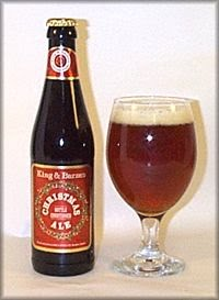 King & Barnes 1998 Christmas Ale