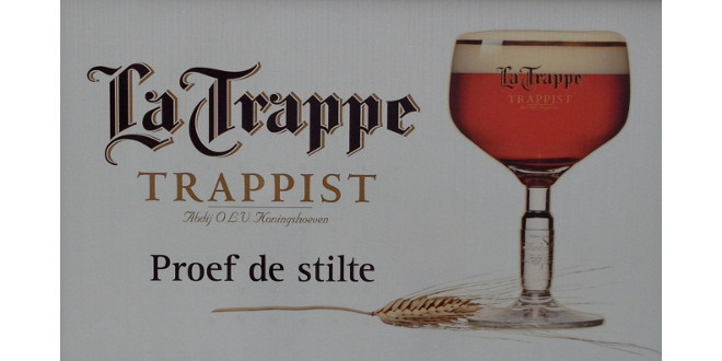 La Trappe welcome sign