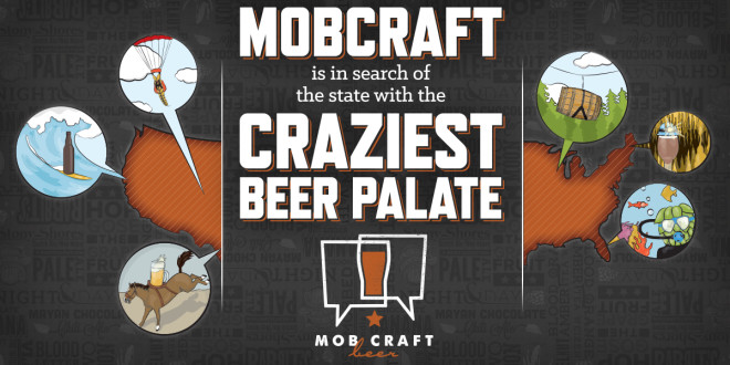 MobCraft Craziest Beer Palate