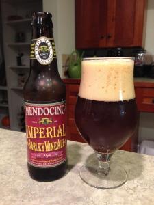 Mendocino Imperial Barley Wine Ale