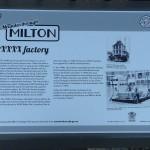 Milton XXXX Factory history