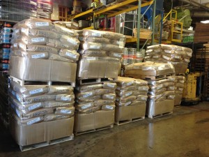 Delivery of Breiss malts