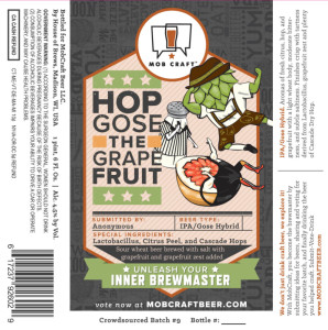 Mobcraft Hop Gose the Grapefruit