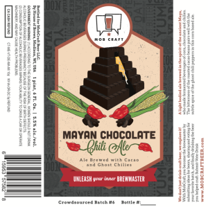 Mobcraft Mayan Chocolate Chili Ale