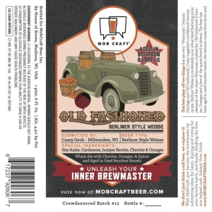 Mobcraft Old Fashioned Bourbon Berliner