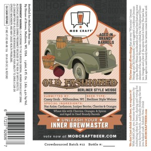 Mobcraft Old Fashioned Brandy Berliner
