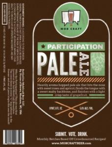 Mobcraft Participation Pale Ale