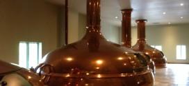 New Glarus brew kettles