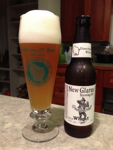 New Glarus Dancing Man Wheat