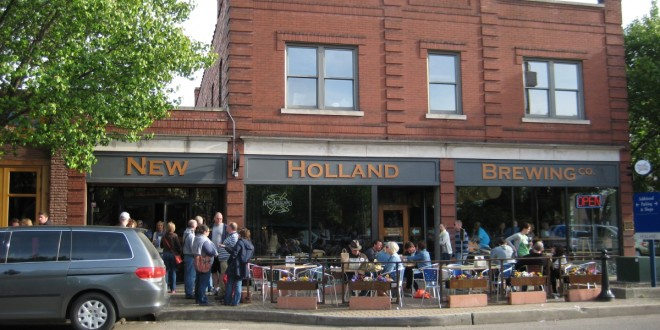 New Holland brewpub